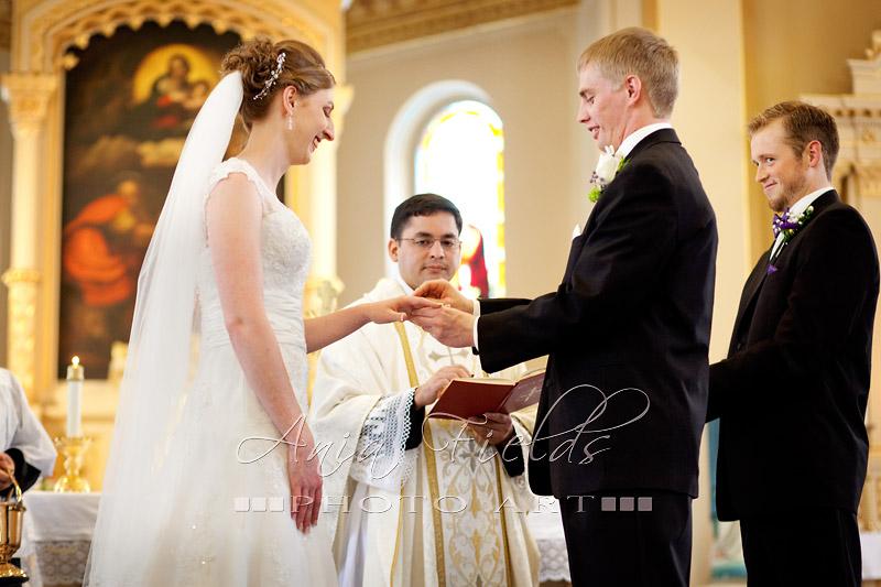 St Norbert church wedding