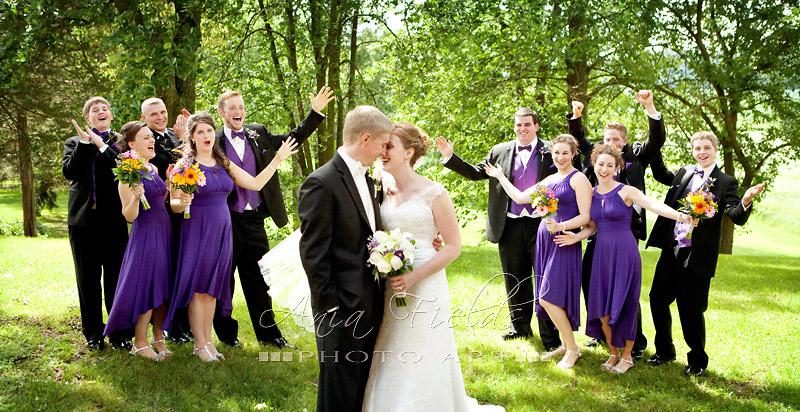 Sauk Prairie wedding photos