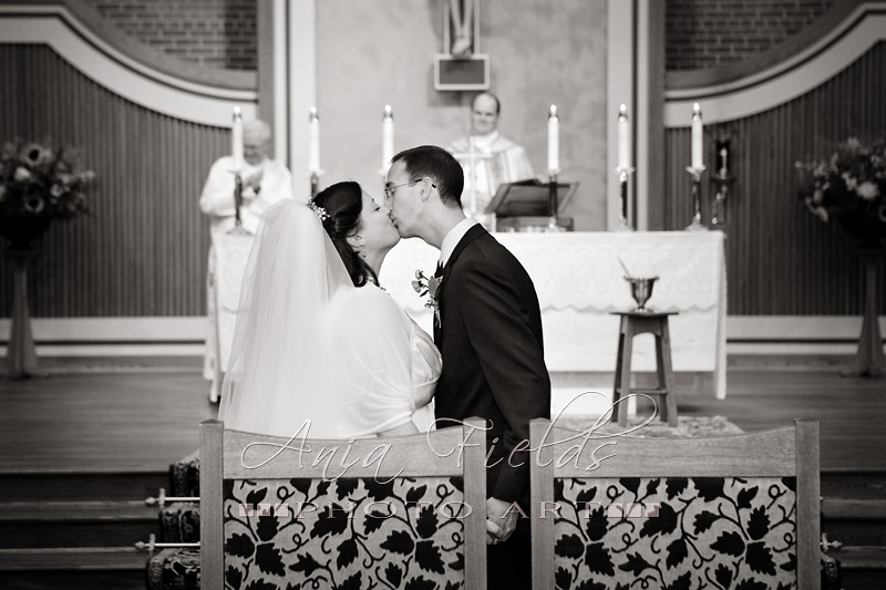 St Al's Sauk City wedding
