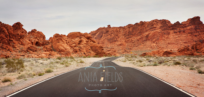 road-to-Valley-of-Fire-NV