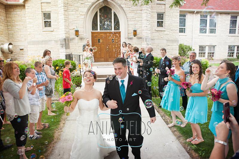 St John Reedsburg wedding photographer
