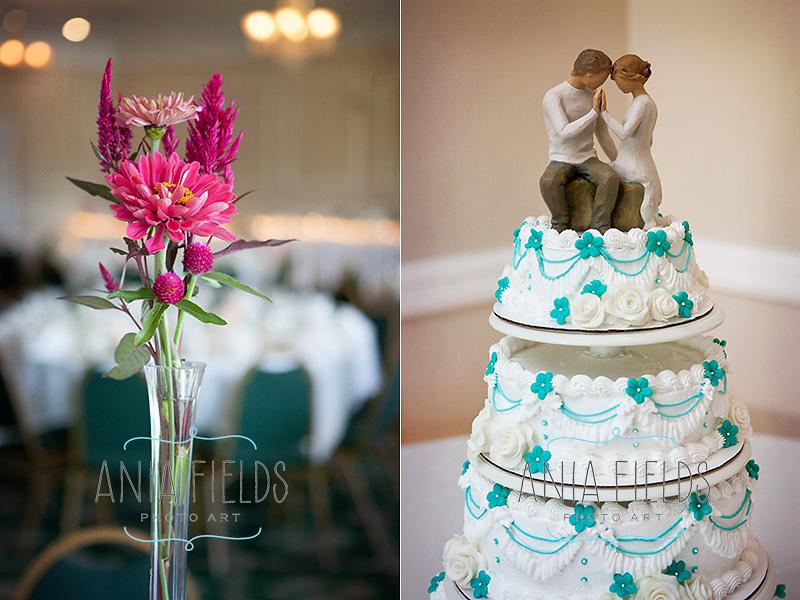 Kea's Kakes wedding cake