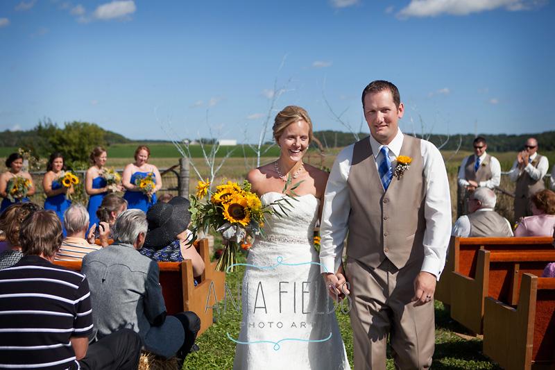 summer farm wedding wisconsin