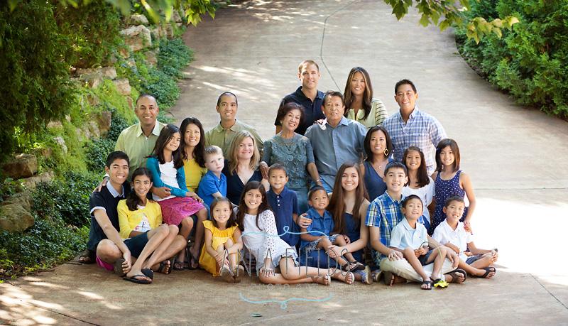 extended family portrait idea