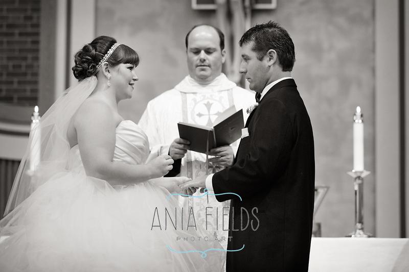 St Aloysius wedding Sauk City