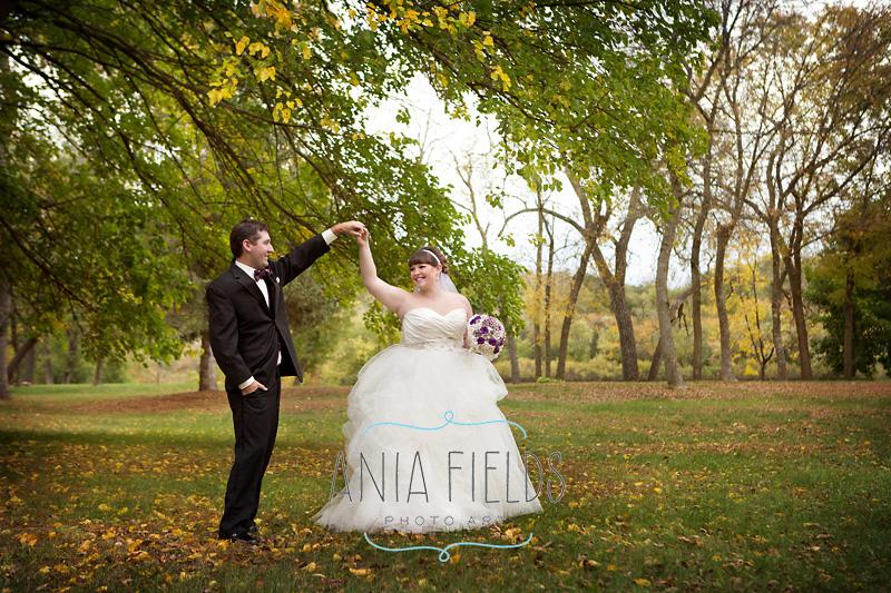 October wedding Wisconsin