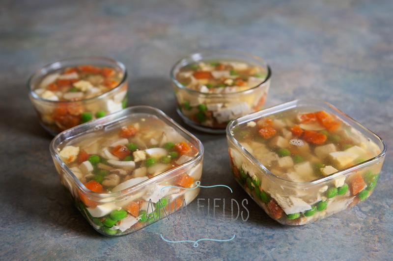 chicken jello appetizer