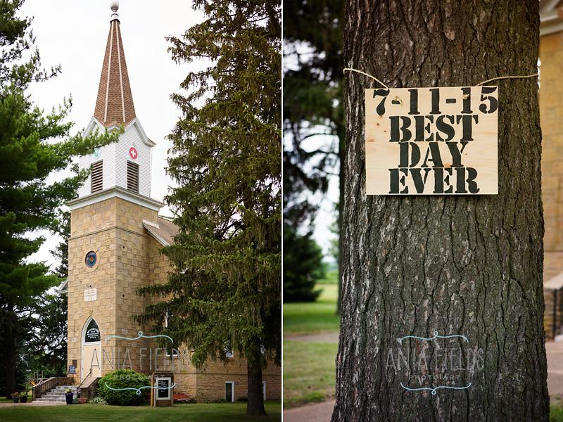 Salem church wedding