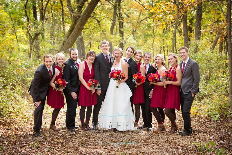outdoor wedding Wisconsin