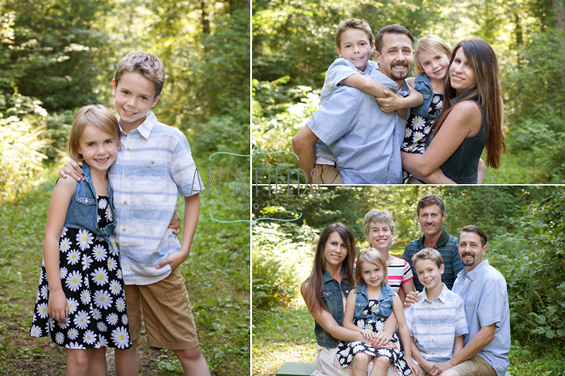 family pictures Wisconsin Dells