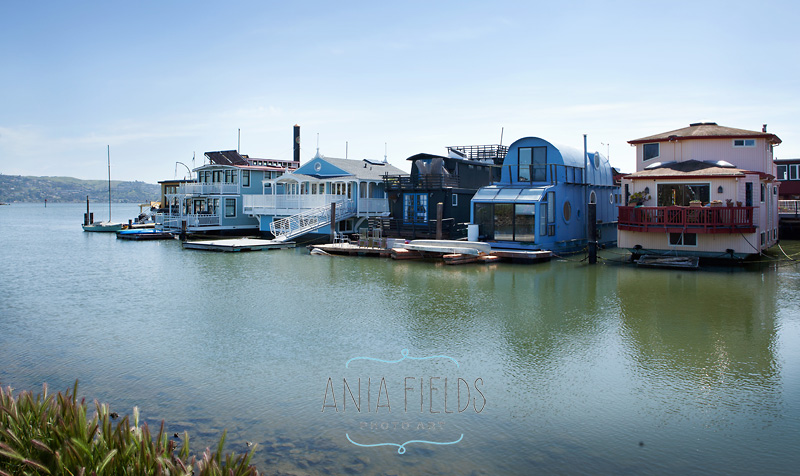 house boats in Sausalito