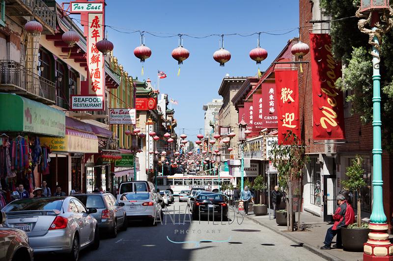 Chinatown Grand Ave San Francisco