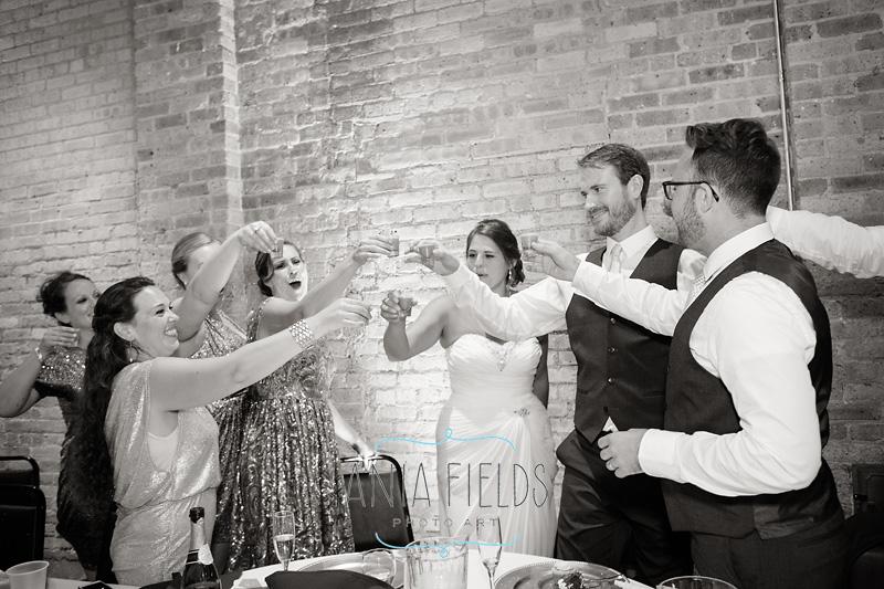 wedding reception at Baraboo Arts Center