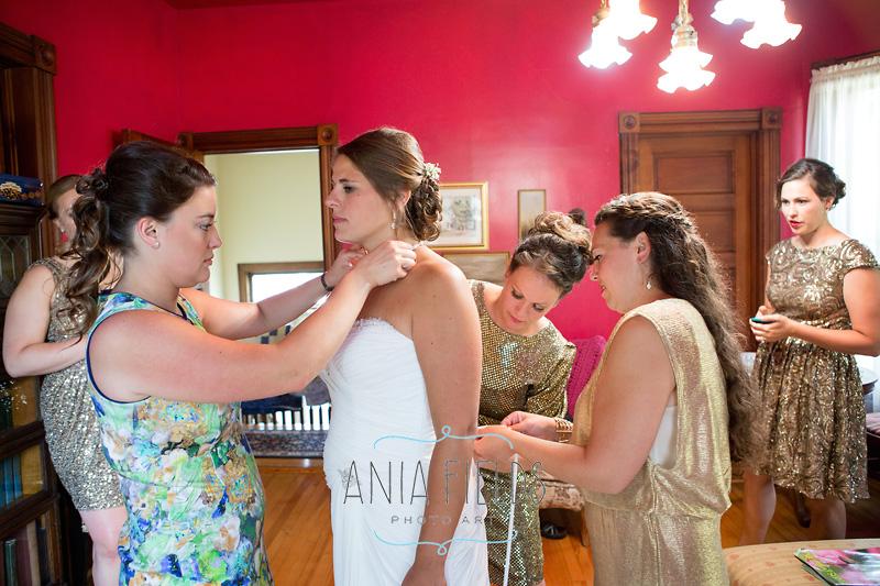 Gollmar Guest House wedding