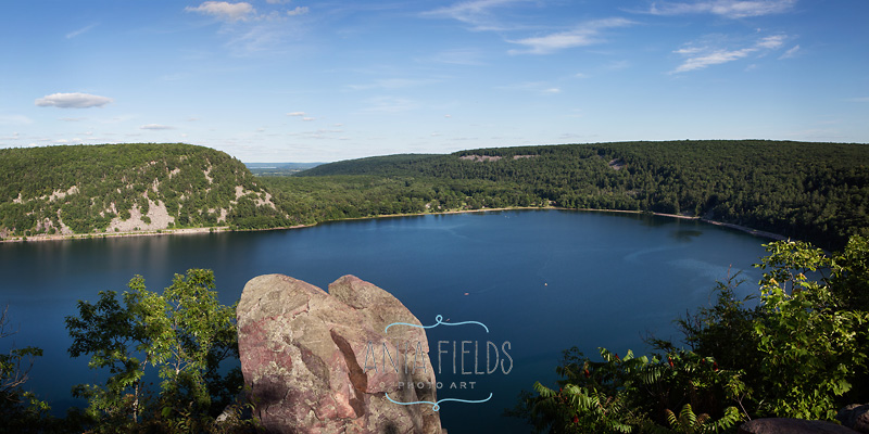 Devils Lake State Park view