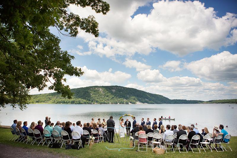 Wisconsin State Park wedding