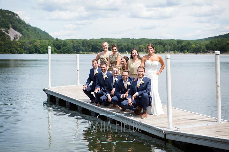wedding photos Devil's lake