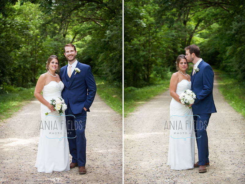 Devil's lake wedding pictures