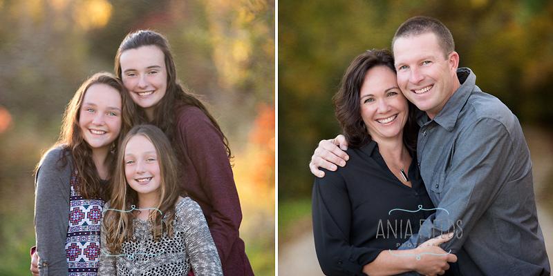 family portraits at Devil's Lake