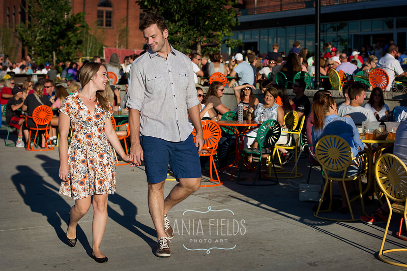 Memorial Union engagement pictures