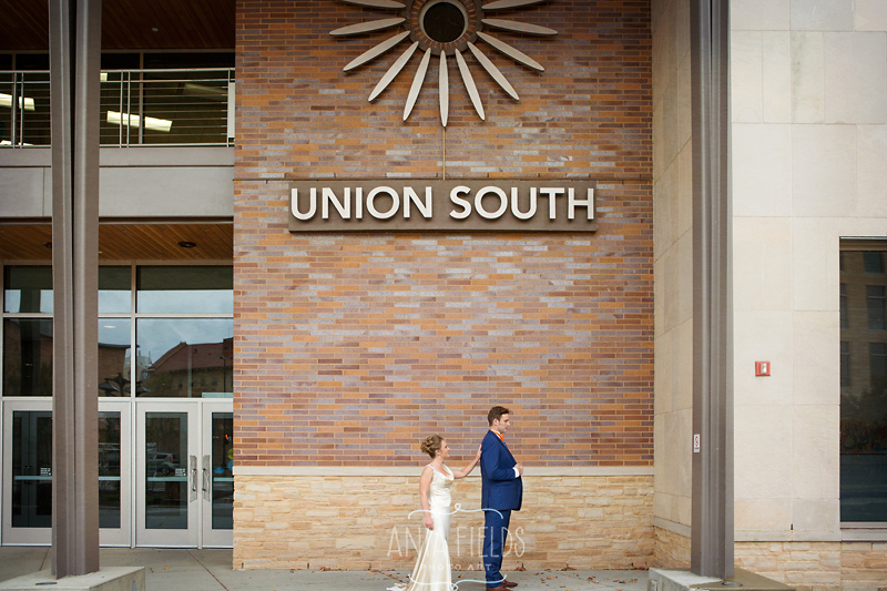 UW Madison campus wedding