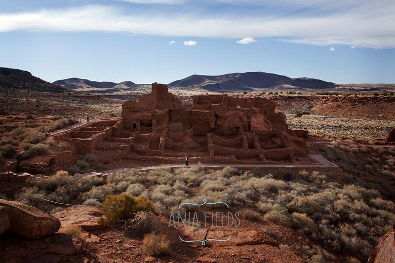 ancient ruins at Wupatki National Monument