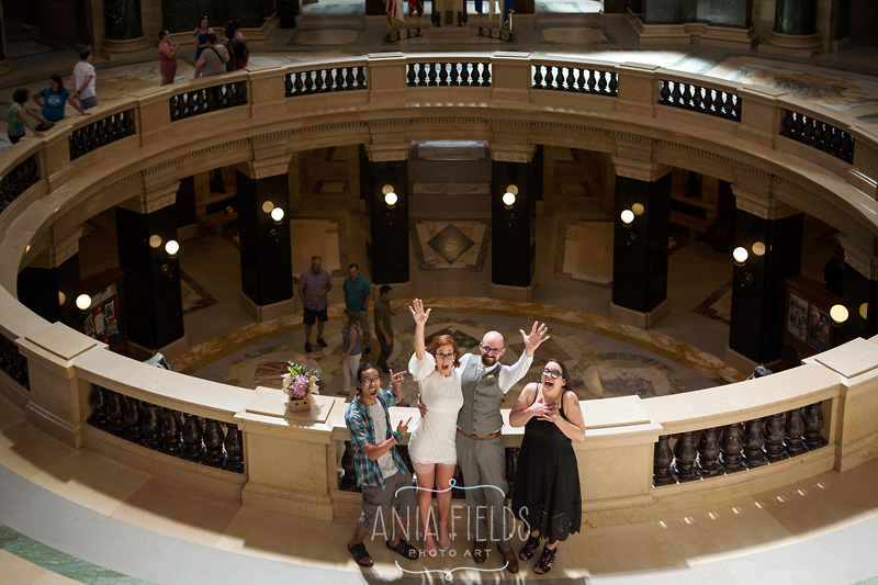 Wisconsin State Capitol Wedding