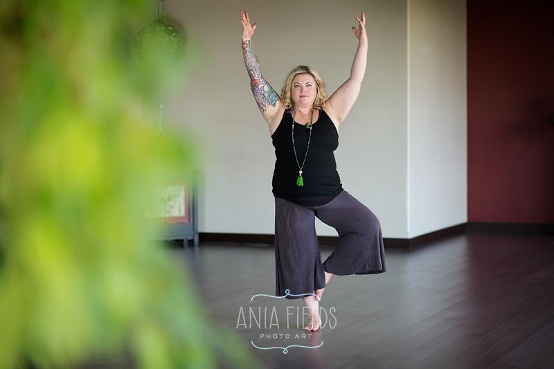 yoga teacher branding photos