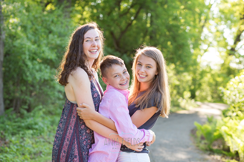sisters and brother photo